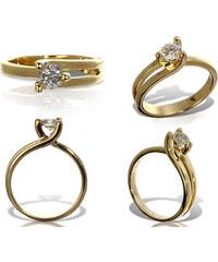 Eppi Zásnubní prsten s diamantem Devi
