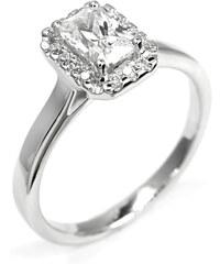 Eppi Zásnubní vintage prsten s emerald diamantem Davina