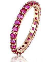 Eppi Zlatý eternity prsten s rubíny Brites