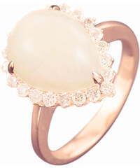 Eppi Zlatý prsten s opálovou kapkou Kailee