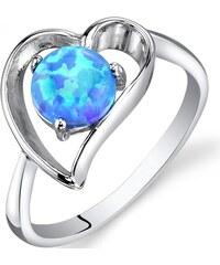 Eppi Prsten s modrým opálem ukrytým v srdci Chanae