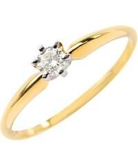 Eppi Zásnubní prsten s diamantem Delzi