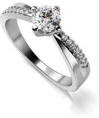 Eppi Zásnubní prsten s diamanty Sewyn