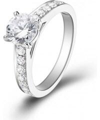 Eppi Platinový zásnubní prsten s diamanty Tarin