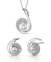Eppi Stříbrná perlová kolekce Leiko
