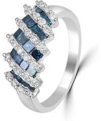 Eppi Diamantový prsten z bílého zlata Tarkan