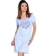 Taro Dámská noční košile Amore modrá