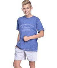 Taro Chlapecké pyžamo Kaja tmavě modré