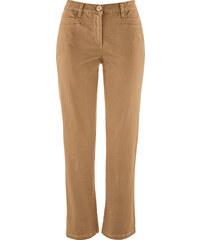 bpc bonprix collection Pantalon extensible amincissant longueur cheville marron femme - bonprix