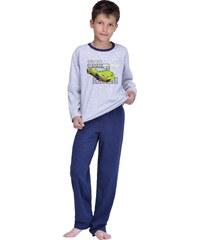 Taro Chlapecké pyžamo Olda šedé