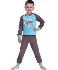 Taro Dětské chlapecké pyžamo Kopačky