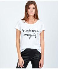 T-shirt en coton everything's amazing Etam