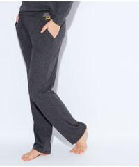 Pantalon uni, détails gouttes d'eau Etam