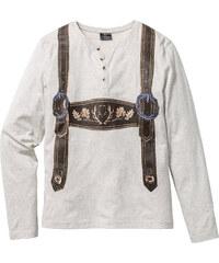 RAINBOW T-shirt manches longues Slim Fit blanc homme - bonprix