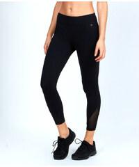 Pantalon 7/8 ultra-strech, effet galbant, avec empiècements résille Etam
