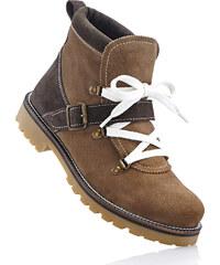 bpc bonprix collection Bottines en cuir marron chaussures & accessoires - bonprix