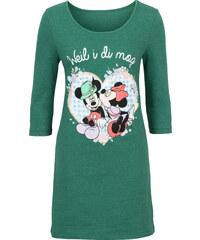 Disney T-shirt long Oktoberfest vert manches 3/4 femme - bonprix