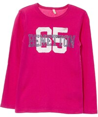 Benetton T-shirt - fuchsia