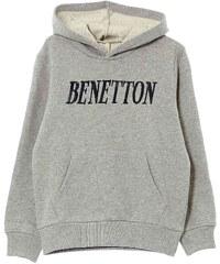 Benetton Sweat à capuche - gris