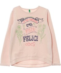 Benetton Sweat-shirt - rose clair