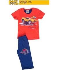 Vienetta Secret Dětské pyžamo kapri Corvette - jahodová