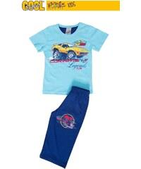 Vienetta Secret Dětské pyžamo kapri Corvette - tyrkysová