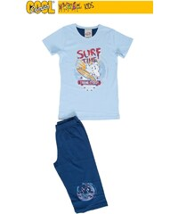 Vienetta Kids Dětské pyžamo kapri Žralok - modrá