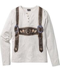 RAINBOW Langarmshirt Slim Fit in weiß für Herren von bonprix