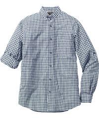 bpc selection Trachten-Hemd Regular Fit langarm in blau von bonprix