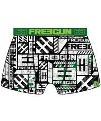 Freegun Chlapecké boxerky GGreen, zelené
