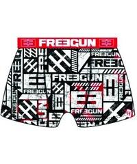 Freegun Chlapecké boxerky Rred, červené