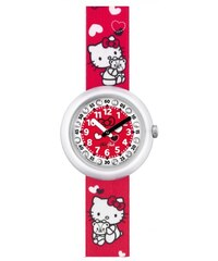 Swatch Dívčí hodinky Hello Kitty ZFLNP014-STD