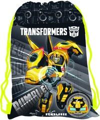 Karton P+P Sáček na cvičky - Transformers
