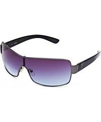 GUESS GUESS Mixed Shield Sunglasses - gunmetal