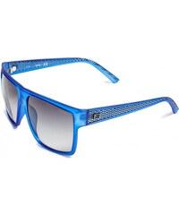 GUESS GUESS Matte Textured Wayfarer Sunglasses - navy/blue