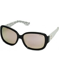 GUESS GUESS Oversized Square Logo Sunglasses - black
