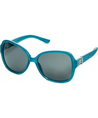 GUESS GUESS Textured Oversized Oval Sunglasses - curry brow
