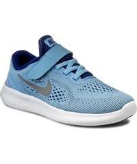 Schuhe NIKE - Nike Free Rn (Psv) 833995 401 Blcp/Mtllc Slvr/Dp Ryl Bl/Whit