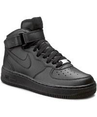Schuhe NIKE - Air Force 1 Mid (Gs) 314195 004 Black/Black