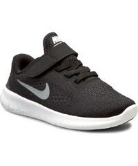 Boty NIKE - Nike Free Rn (Psv) 833991 001 Black/Metallic/Silver/Anthrct