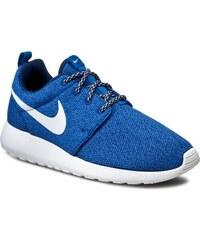 Boty NIKE - Nike Roshe Run 844994 400 Coastal Blue/White/Blue Spark