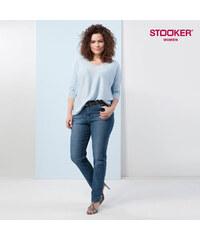 Stooker_Women Jeans Comfort Slim en stretch Vienna Bleu