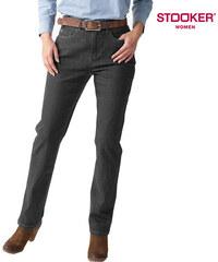 Stooker_Women Stooker Classic Stretch-Jeans Nizza Grey - EU 36 - L28