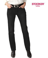 Stooker_Women Stooker Regular Fit-Stretch-Jeans Tokio Black - W42-L30