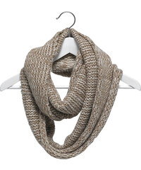 Eram snood écharpe tube beige