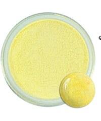 Allepaznokcie perlový akrylový pudr žlutý 4g