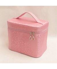 Allepaznokcie SOIGNE Kosmetická taštička 19x11cm růžová