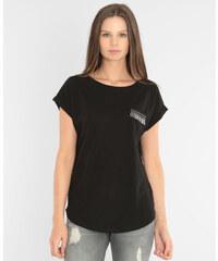 T-shirt poche fantaisie noir, Femme, Taille M -PIMKIE- MODE FEMME