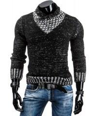 Pánský svetr Stomo černý - černá