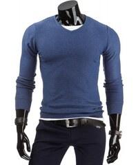 Pánský svetr Schary modrý - modrá